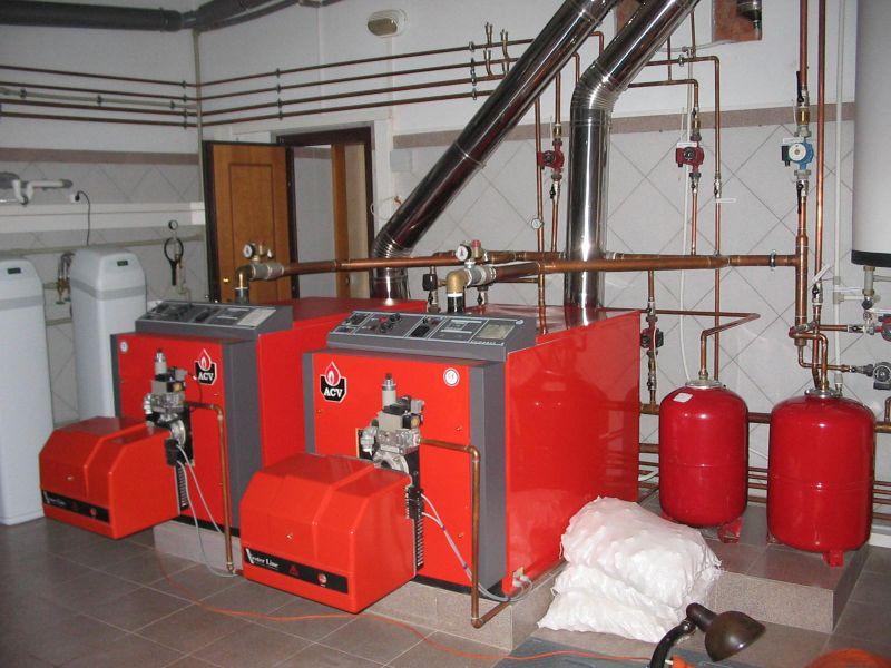 котельная на газовом топливе 100 квт габариты