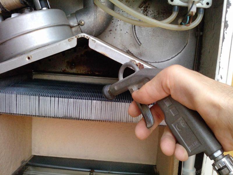 Промывка теплообменников газовых котлов ортофосфорной кислотой oventrop теплообменник до 14 квт